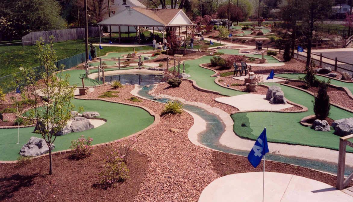 courses putt u miniature golf allentown bethlehem easton pa