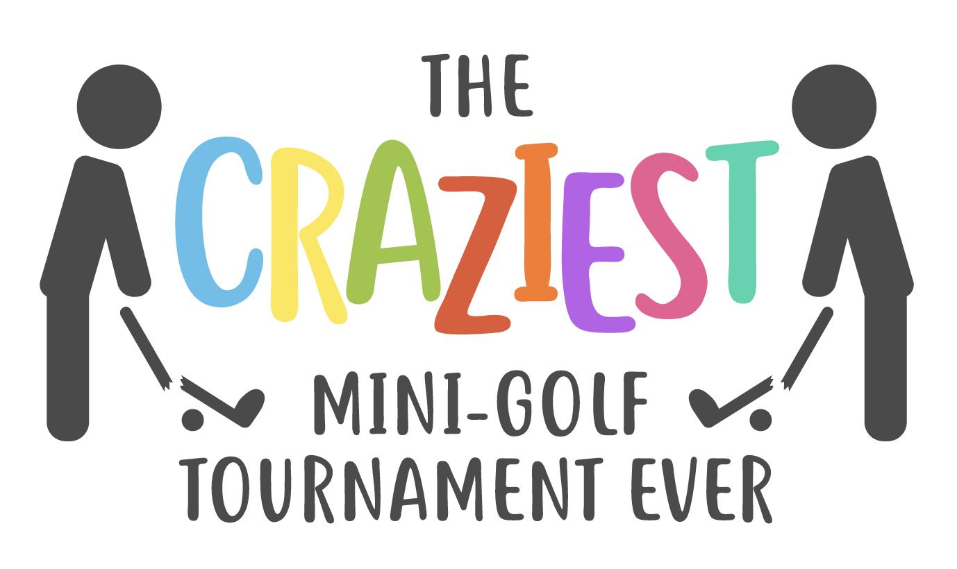 Craziest Mini Golf Logo Putt U Miniature Golf